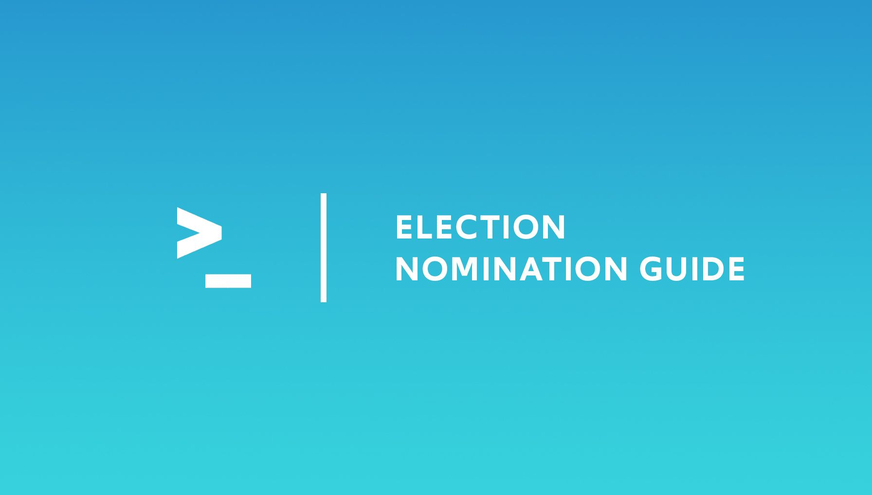 Election Nomination Guide