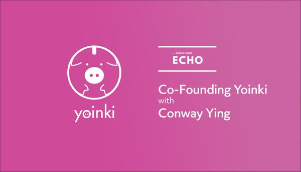 Co-founding Yoinki w/ Conway Ying