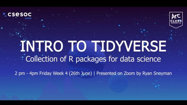 Intro to Tidyverse Workshop
