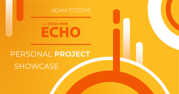 Personal Project Showcase w/ Adam Tizzone