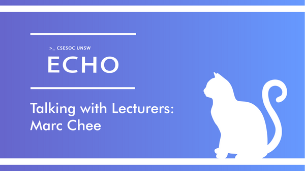 Talking with Lecturers: Marc Chee