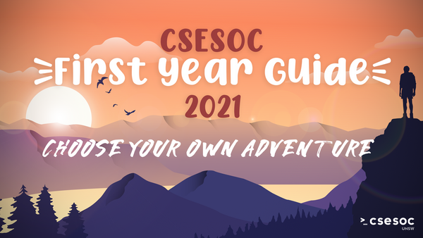 CSESoc 2021 First Year Guide